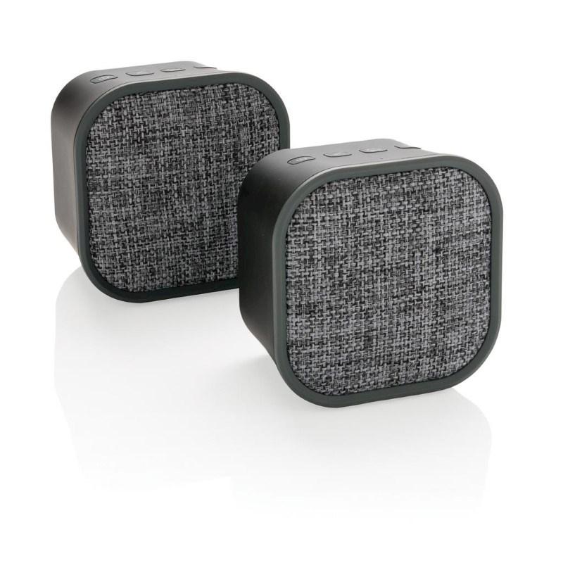 Draadloze duo speaker, zwart