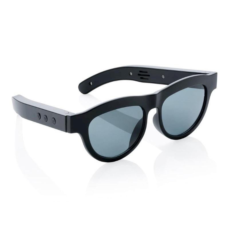 Draadloze speaker zonnebril, zwart