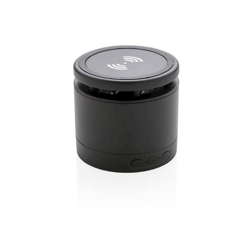 5W speaker met draadloze oplader, zwart