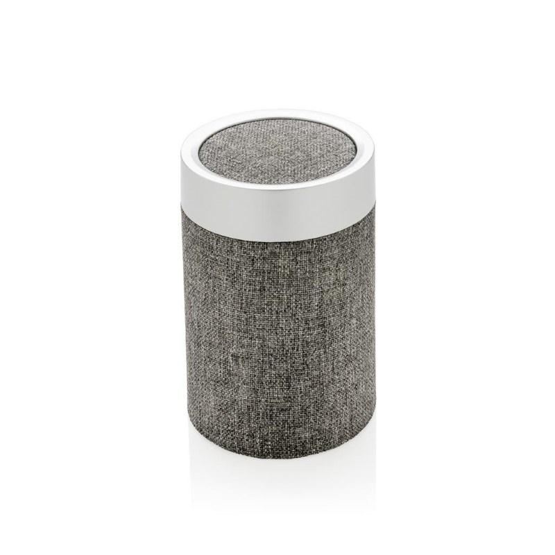 Vogue ronde draadloze speaker, grijs
