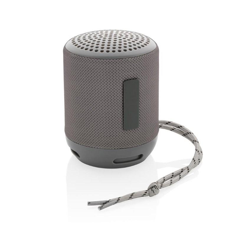 Soundboom waterdichte 3W draadloze speaker, grijs
