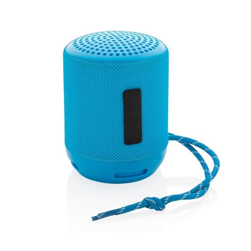 Soundboom IPX4 waterdichte 3W draadloze speaker, blauw
