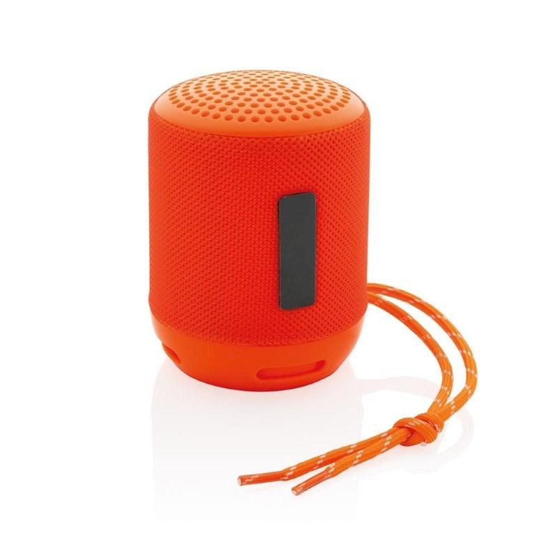 Soundboom IPX4 waterdichte 3W draadloze speaker, oranje