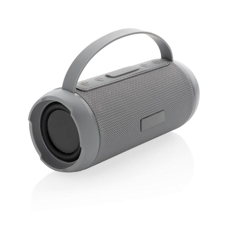 Soundboom IPX4 waterdichte 6W draadloze speaker, grijs