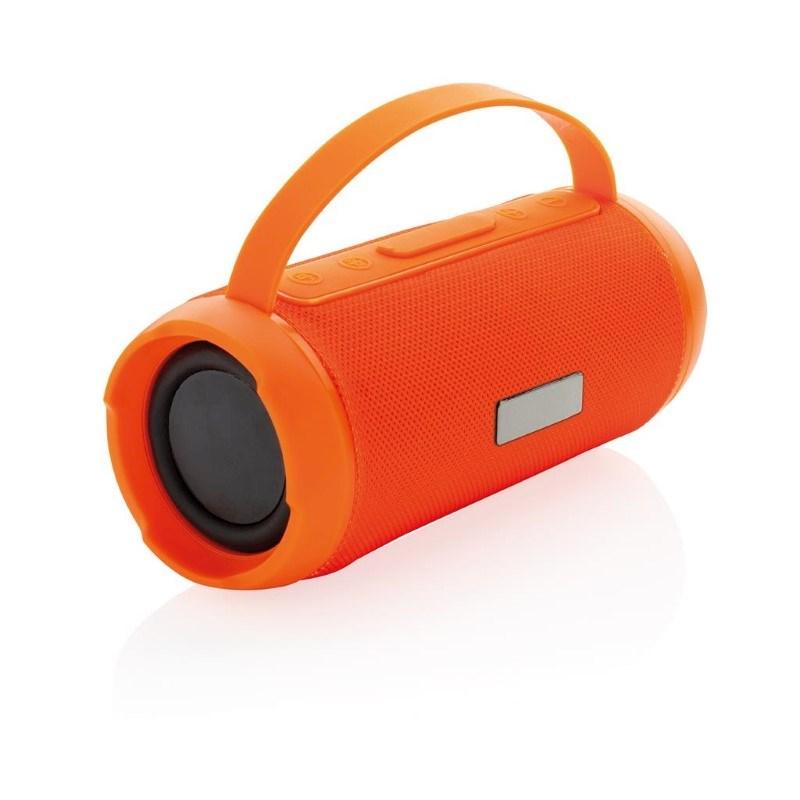 Soundboom IPX4 waterdichte 6W draadloze speaker, oranje