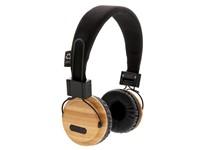 Bamboe draadloze hoofdtelefoon, bruin