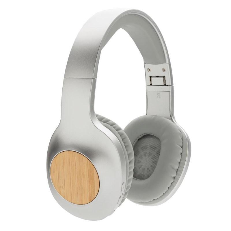 Dakota bamboe draadloze hoofdtelefoon, grijs