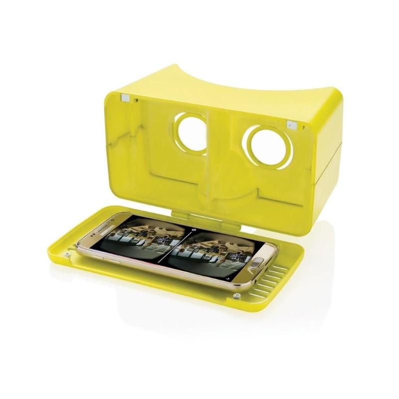 VR-bril XL, limegroen