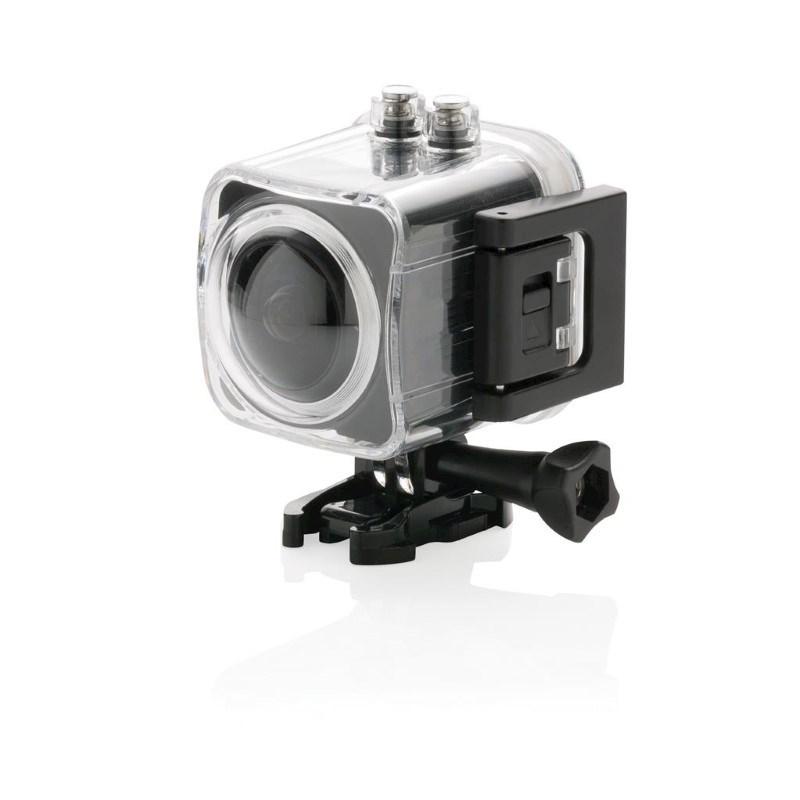 360 graden action camera, zwart