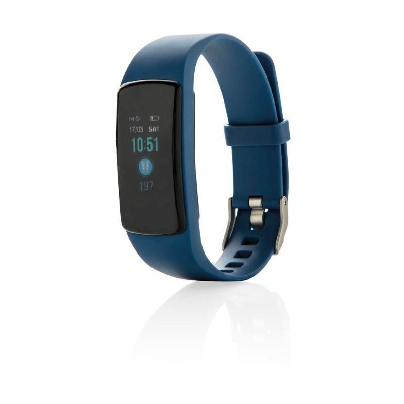 Stay Fit activity tracker met hartslagmeter, blauw