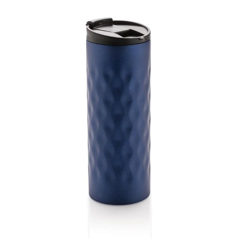 Geometric tumbler, blauw