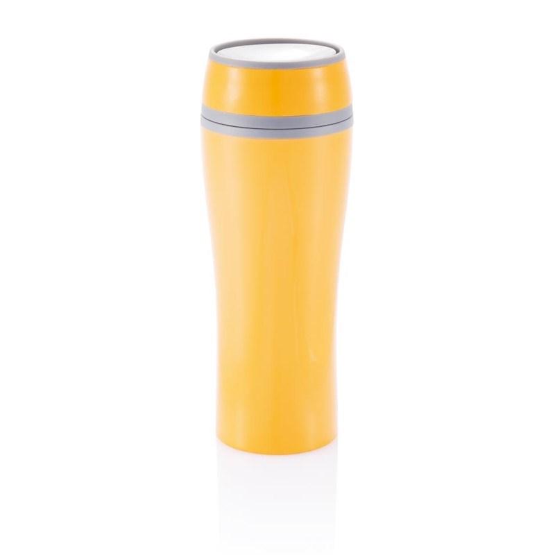 Dubbelwandige mok, oranje