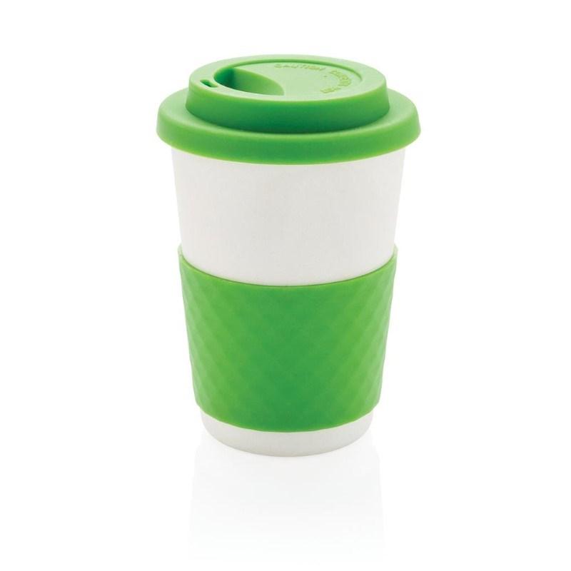 ECO Bamboe koffie beker, groen