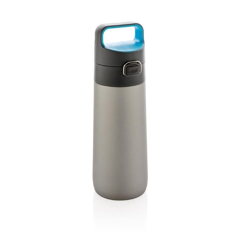 Hydrate afsluitbare lekvrije vacuüm fles, grijs