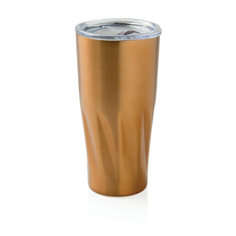 Copper isoleer mok, goudkleurig