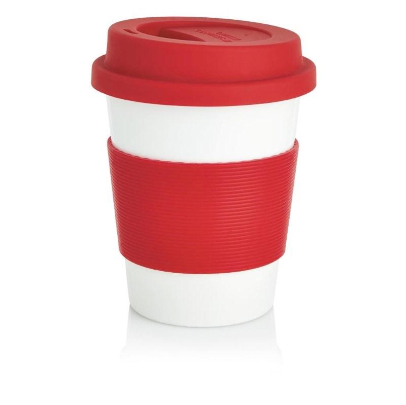 ECO PLA koffiemok, rood