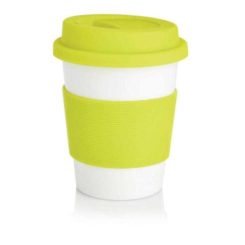 ECO PLA koffiemok, limegroen