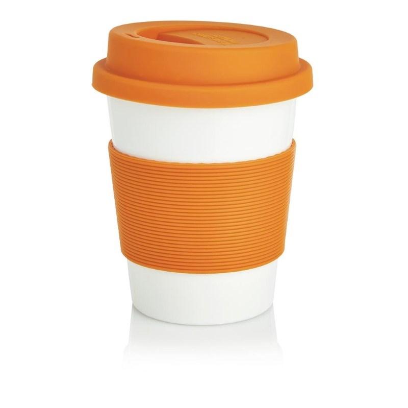 ECO PLA koffiemok, oranje