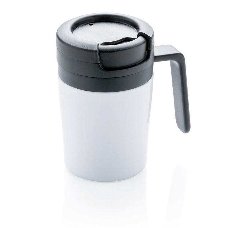Coffee to go beker, wit