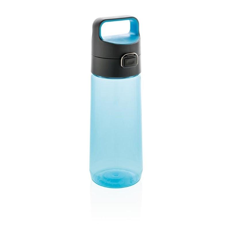 Hydrate afsluitbare lekvrije tritan waterfles, blauw