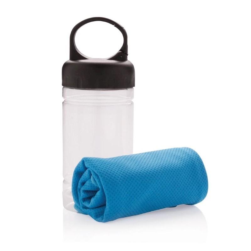 Cooling handdoek, blauw