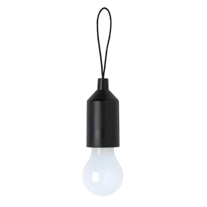 Pull lamp sleutelhanger, zwart