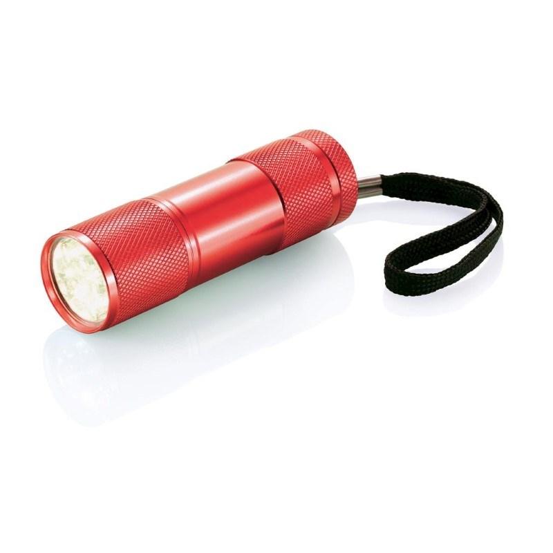Quattro zaklamp, rood