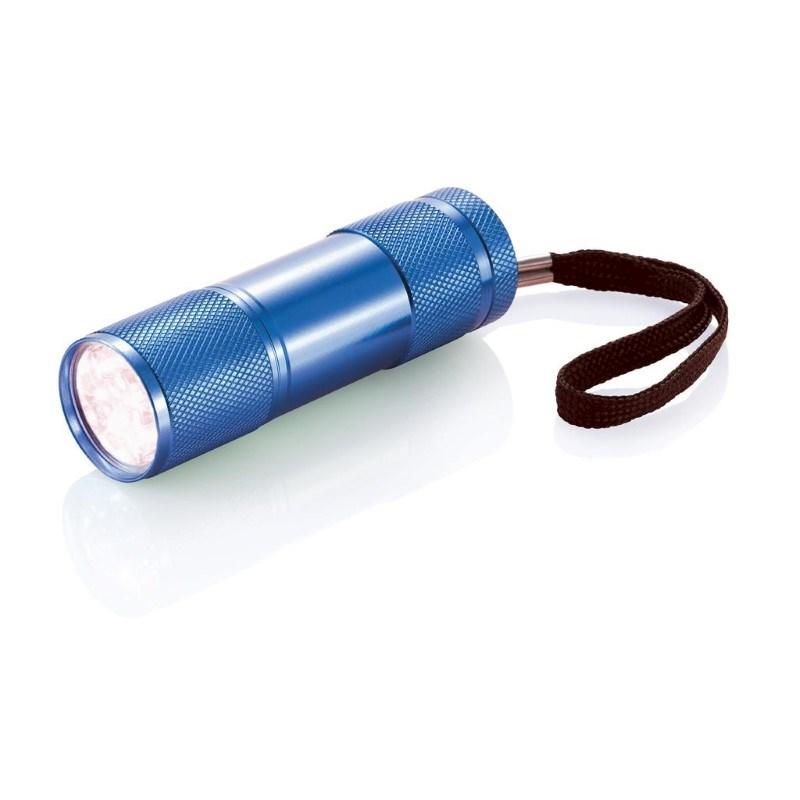 Quattro zaklamp, blauw