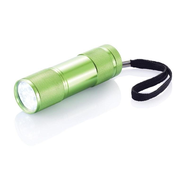 Quattro zaklamp, groen