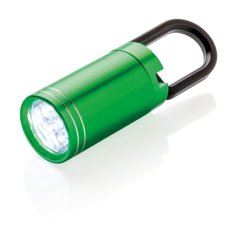 Pull it LED zaklamp, groen