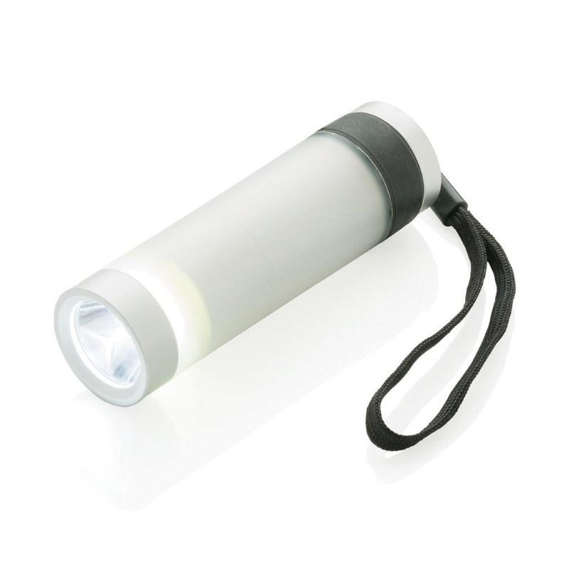 Vivid zaklamp, zilverkleurig