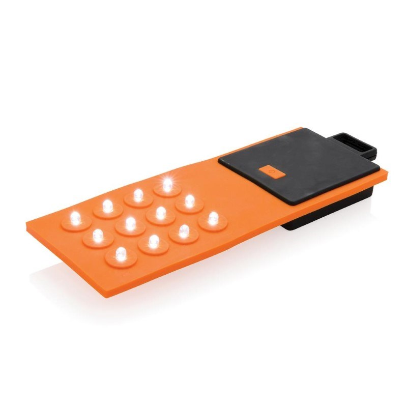 Flexibele werklamp, oranje