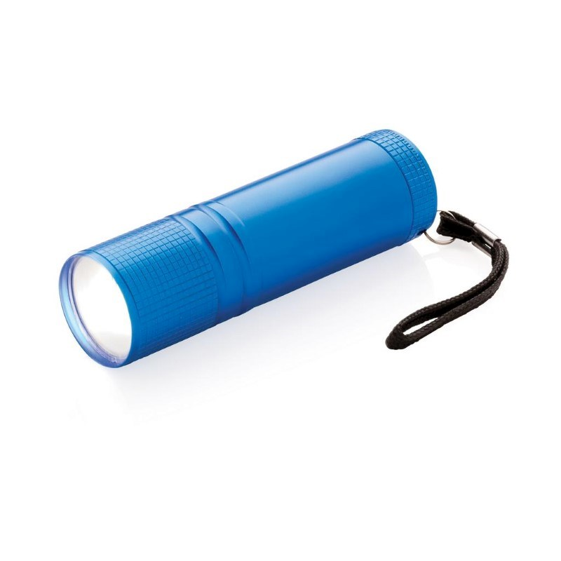 COB zaklamp, blauw