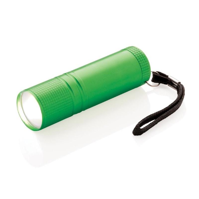COB zaklamp, groen
