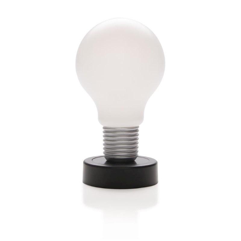 Push lamp, zwart