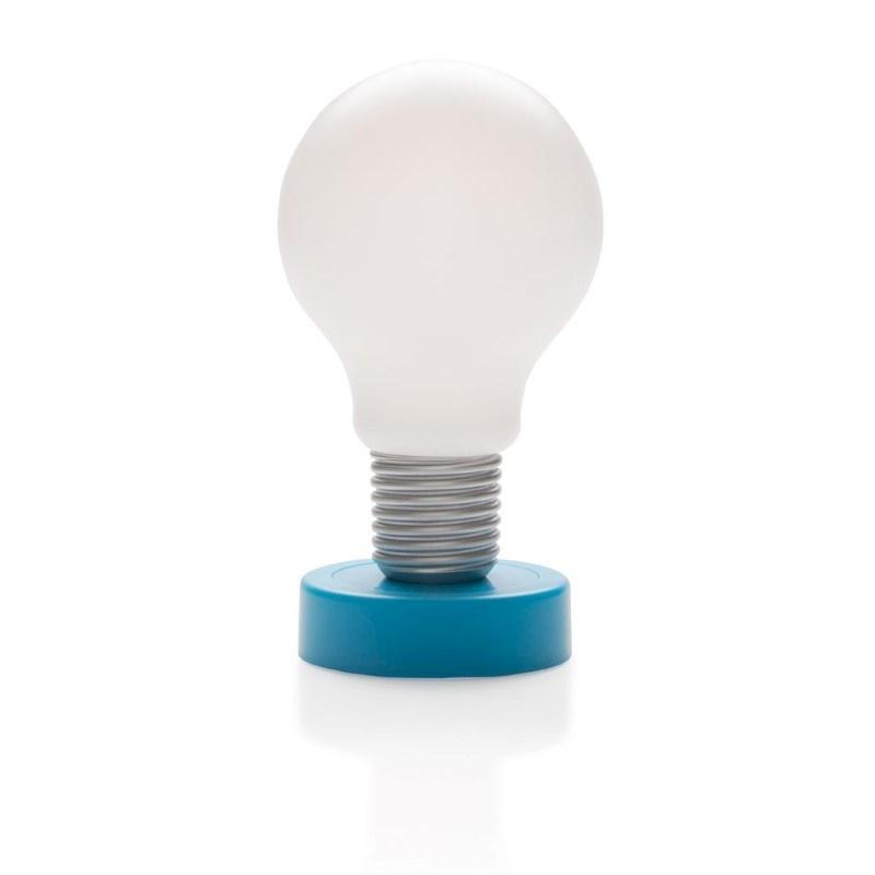 Push lamp, blauw