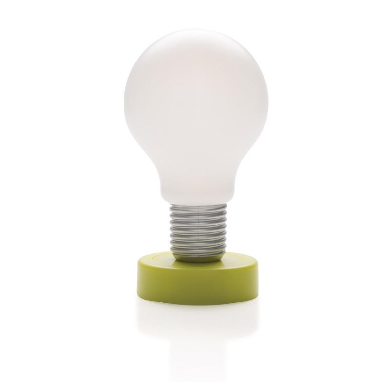 Push lamp, groen