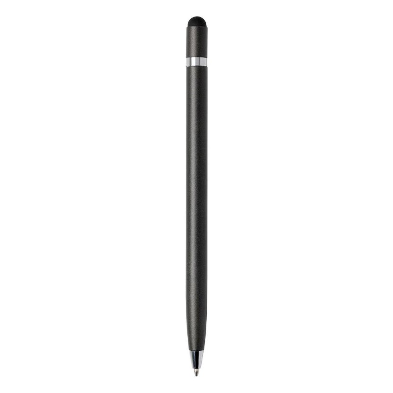 Simplistic metalen pen, grijs
