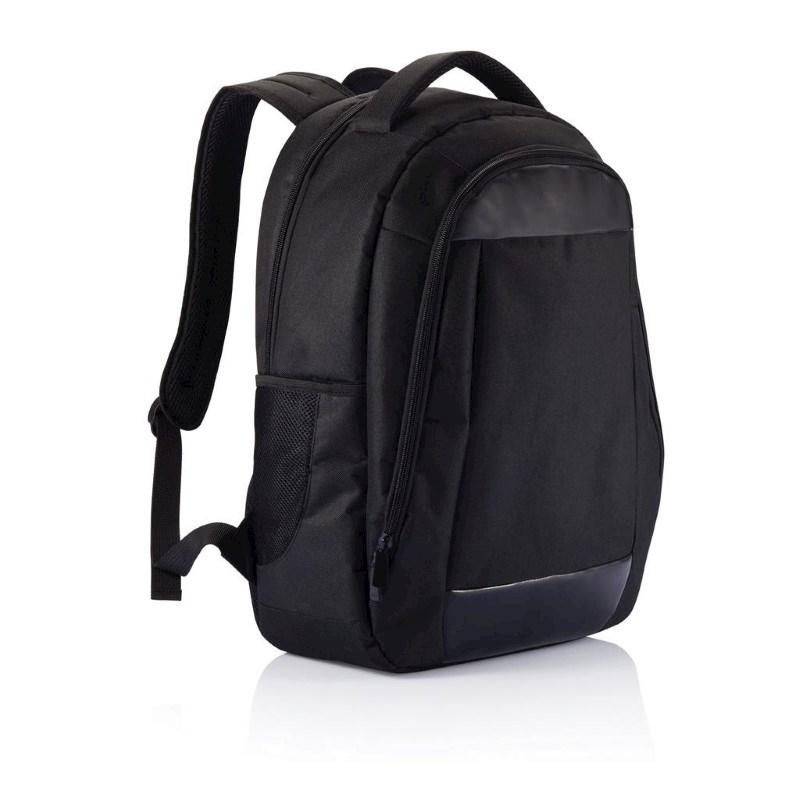 Boardroom PVC vrije laptop rugtas, zwart