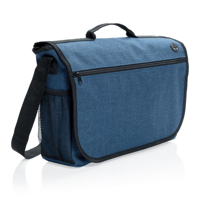 Fashion messenger bag, blauw