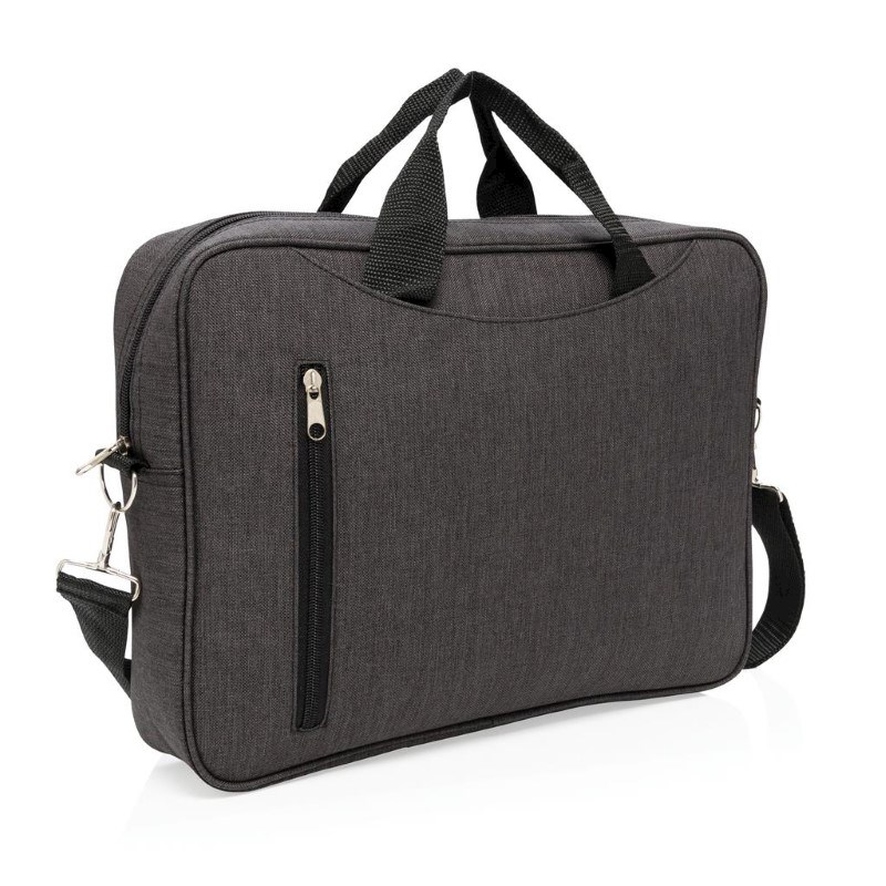 "Basic 15"" laptop tas, antraciet"