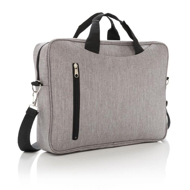 "Basic 15"" laptop tas, grijs"