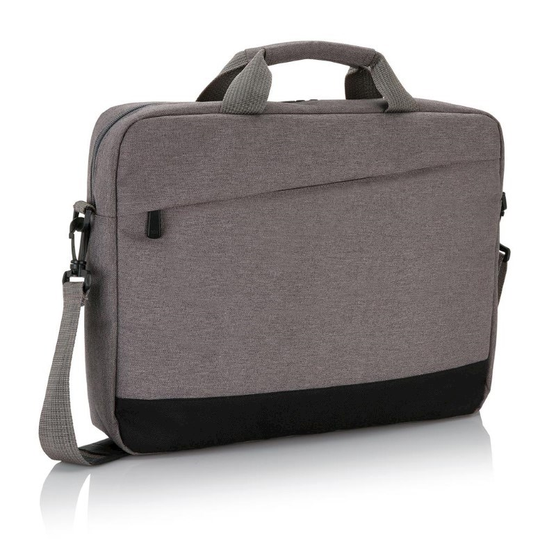 """Trend 15"""" laptop tas, grijs"""
