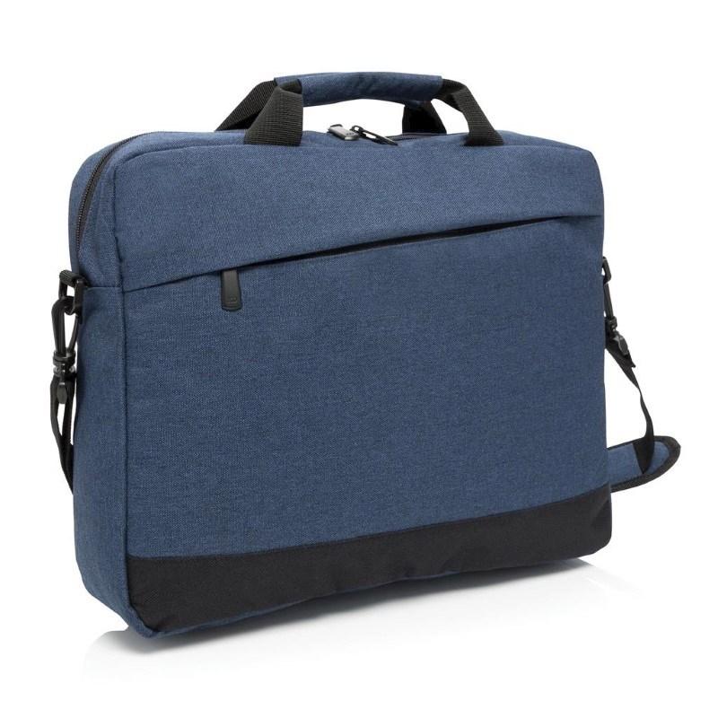 "Trend 15"" laptop tas, blauw"