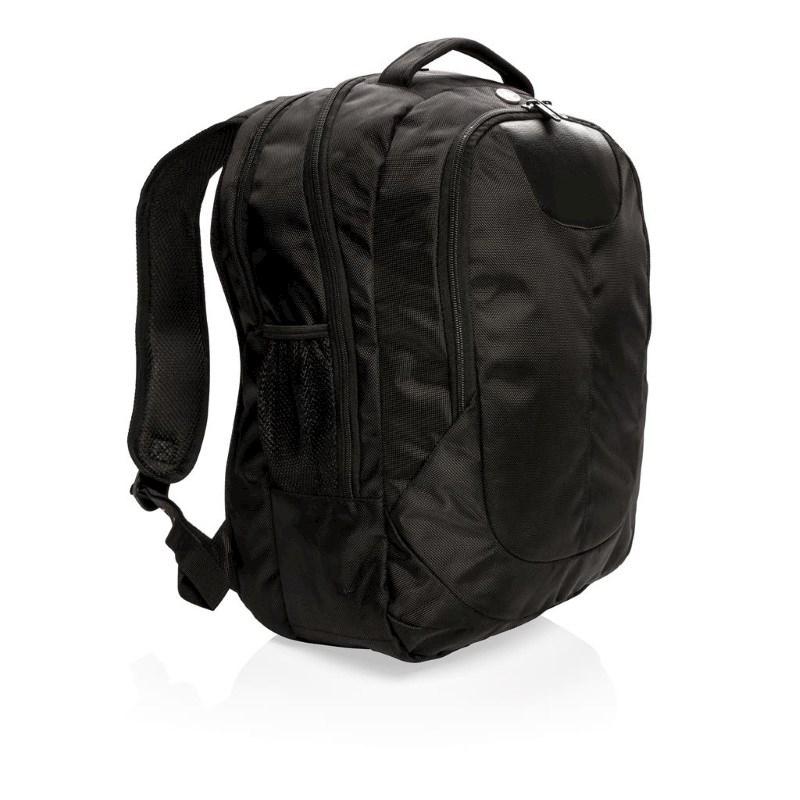Outdoor laptop rugtas, zwart