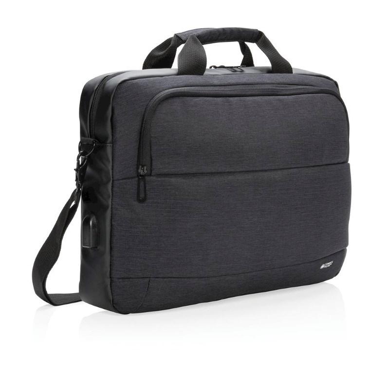 "Modern 15"" laptop tas, zwart"