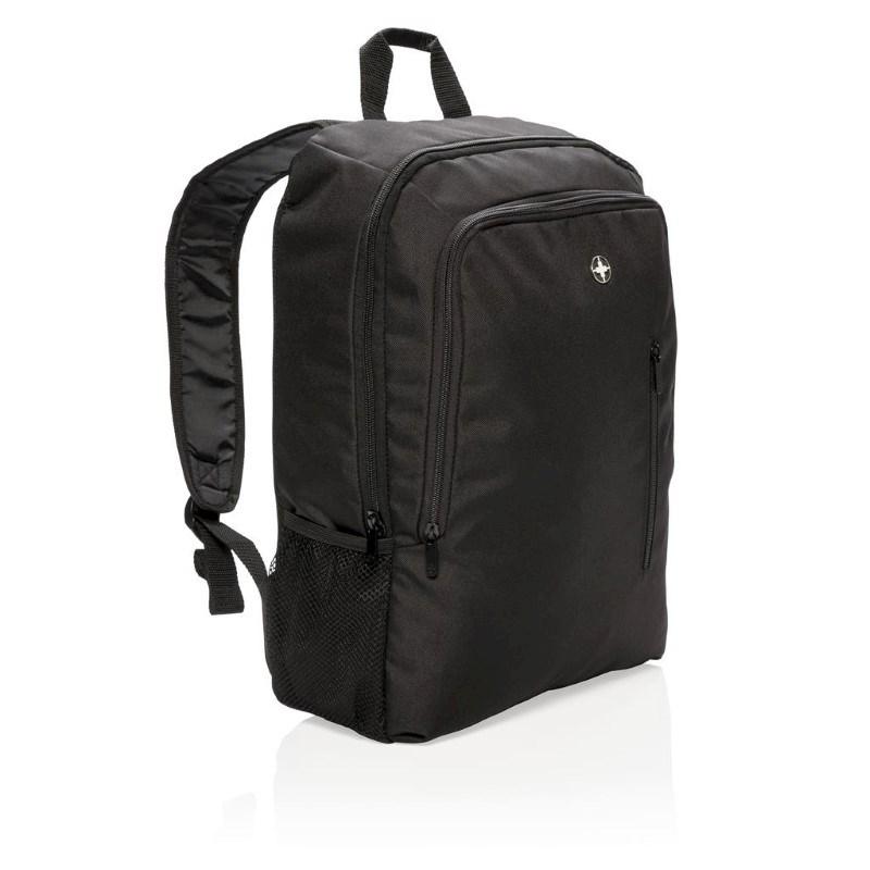 """17"""" zakelijke laptop rugzak, zwart"""