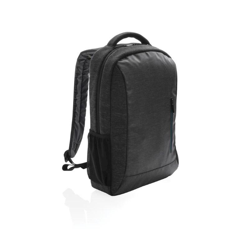 900D laptop rugzak PVC vrij, zwart