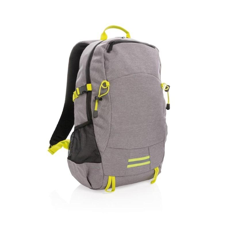 Outdoor RFID laptop rugzak PVC-vrij, grijs