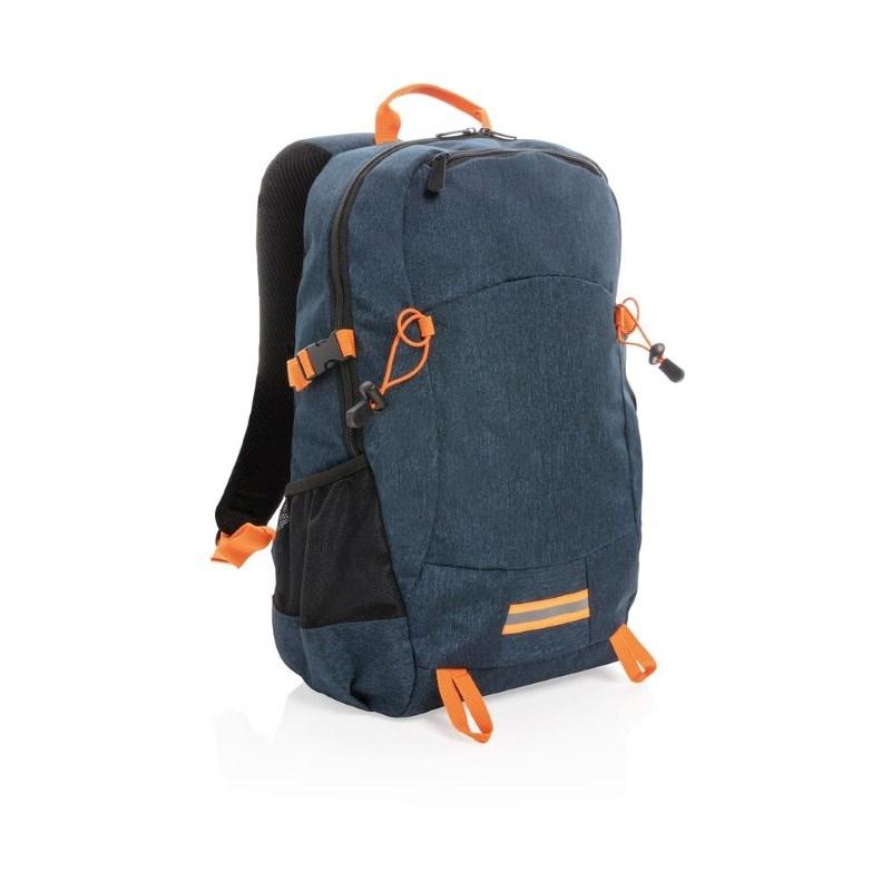 Outdoor RFID laptop rugzak PVC-vrij, blauw